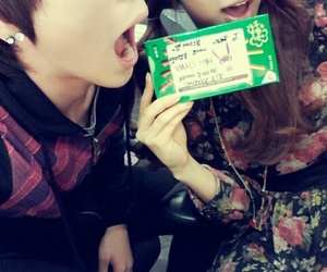 himchan, girl's day, and b.a.p image