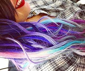 demilovato and coloredhair image