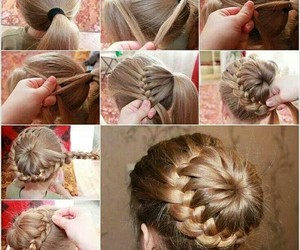 day, hairstyle, and lindo image