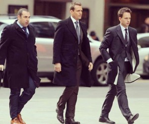 gabriel macht, patrick j. adams, and usa network image