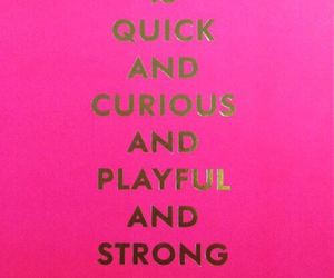 kate spade, strong, and quote image