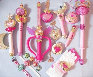 crown, accsessories, and pink image
