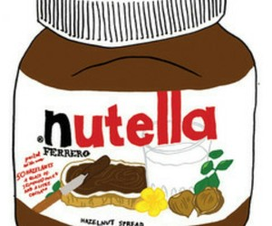 nutella, drawing, and chocolate image