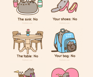 cat, cute, and pusheen image