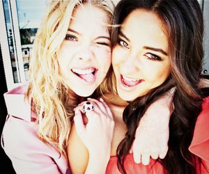 pretty little liars, ashley benson, and pll image