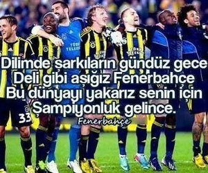 fenerbahce and sampiyon image