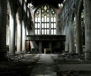 abandoned, church, and forgotten image