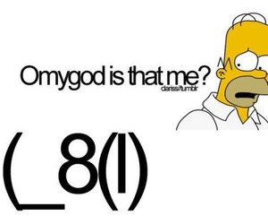 simpsons, homer, and lol image