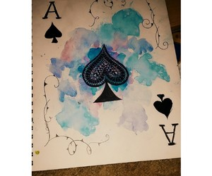 ace, alice in wonderland, and art image