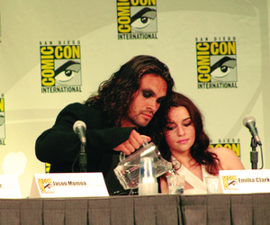 comic con, game of thrones, and khal drogo image