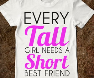 girl, tall, and friends image