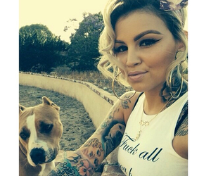 chola, dog, and dope image