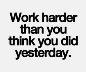 quote, success, and work image