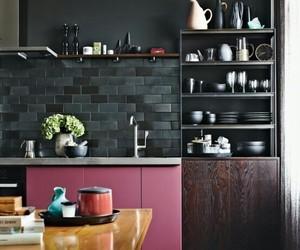 kitchen, decoration, and interior image