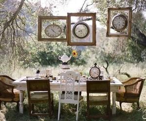 clocks, dining, and food image