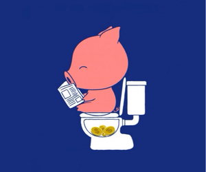 pig, coins, and money image