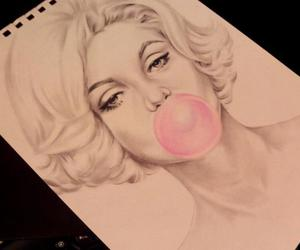 balloon, chewing gum, and draw image