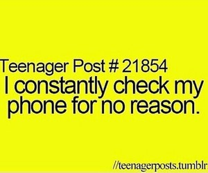 phone, teenager post, and teenager image