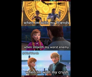 frozen, disney, and enemy image