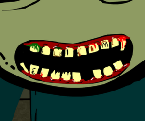 smile, salad fingers, and atrocityblood image
