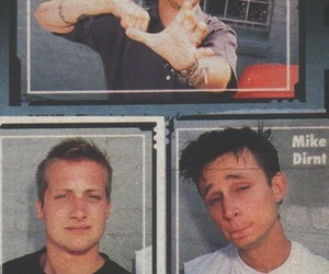 tre cool, mike dirnt, and green day image