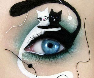 black, loveit, and cats image