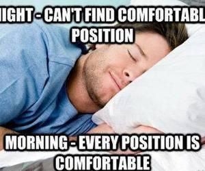 bed, haha, and morning image