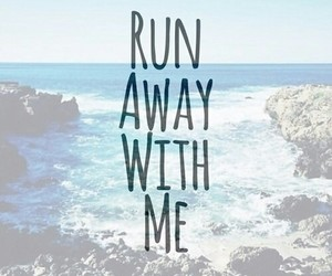 love, run, and summer image
