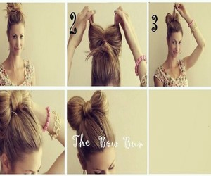 hairstyles, step by step, and cute image