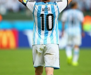 messi, football, and argentina image