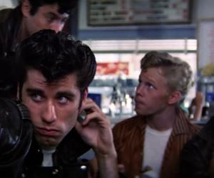 grease and danny zuko image