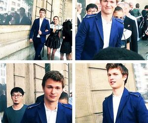 ansel elgort, violetta & ansel, and ansel and her girlfriend image