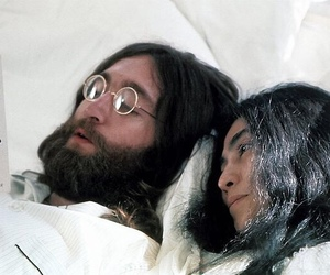john lennon, Yoko Ono, and book image