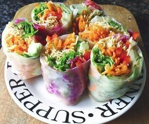 food, vegan, and healthy image