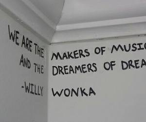 Dream, Willy Wonka, and music image
