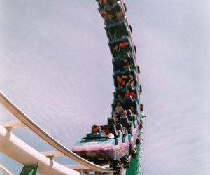 Roller Coaster, fun, and people image