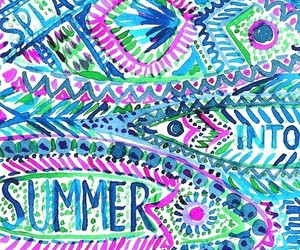 background, bright, and lilly pulitzer image