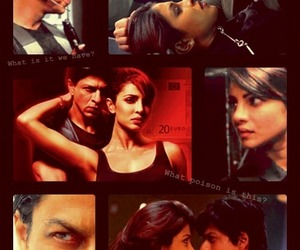 shahrukh khan, priyanka chopra, and king khan image