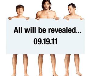 ashton kutcher, two and a half men, and JAKe image