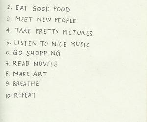 list, music, and art image