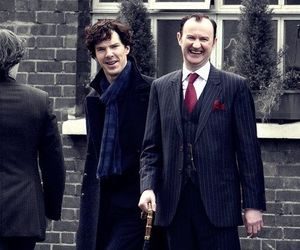 sherlock, benedict cumberbatch, and brothers image