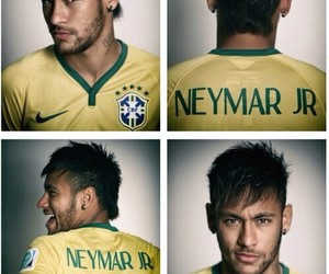 neymar, smile, and world cup image