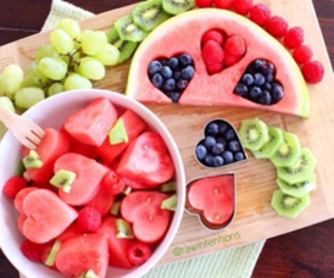 blueberry, diy, and watermelon image