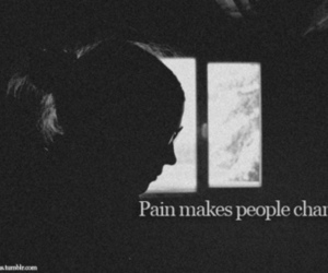black, girl, and pain image