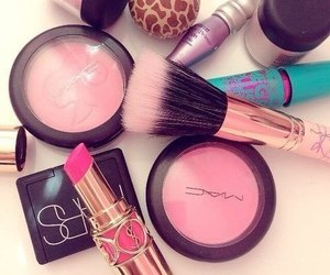 makeup, mac, and pink image
