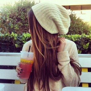 girl, hair, and drink image