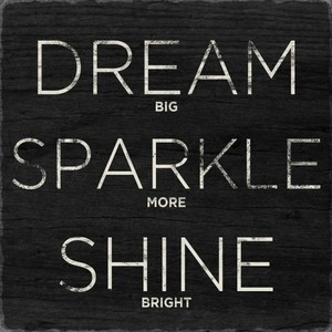 Dream, sparkle, and quotes image