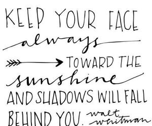 quotes, sunshine, and shadow image