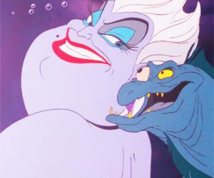 ursula, disney, and little mermaid image