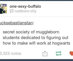 books, harry potter, and hogwarts image